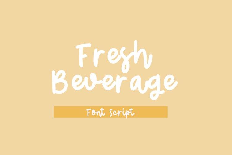 Fresh Beverage example image 1