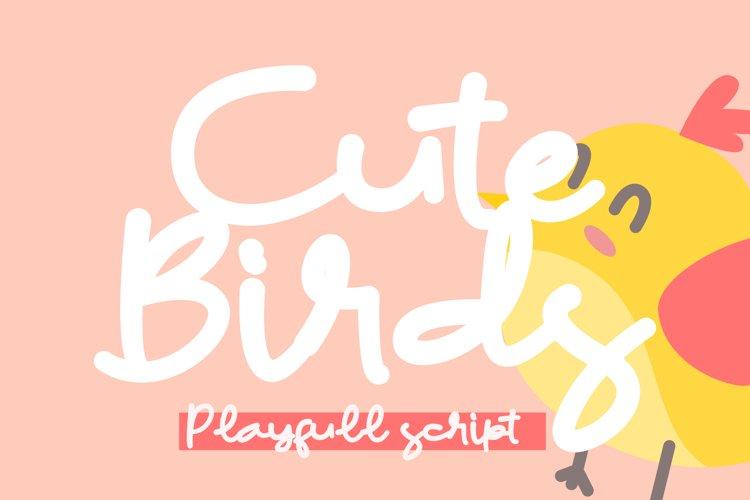 Cute Birds example image 1