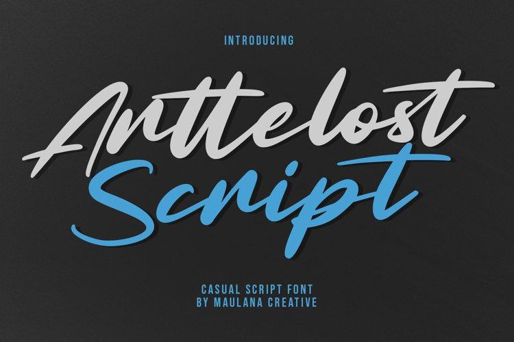 Arttelost Casual Script Font example image 1
