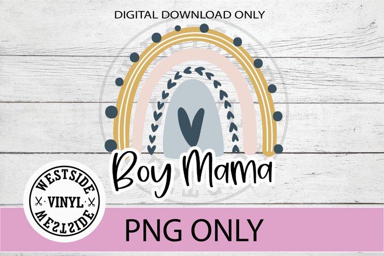 boy mama mug files rainbow png files sublimation boy mama
