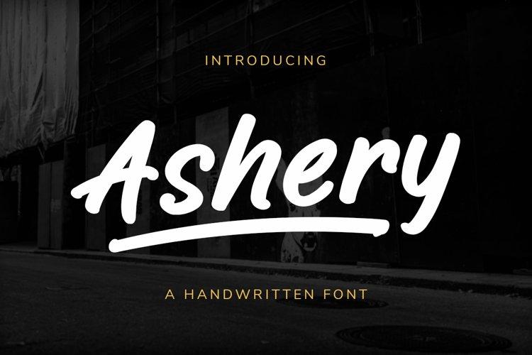 Ashery - Handwritten Marker example image 1
