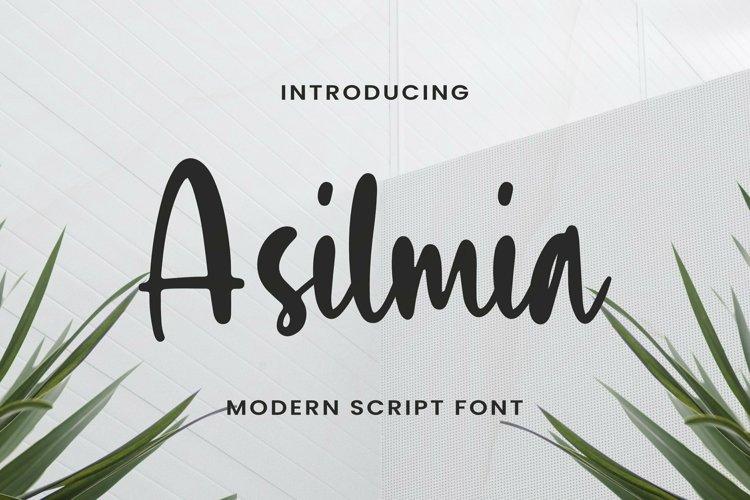 Web Font Asilmia