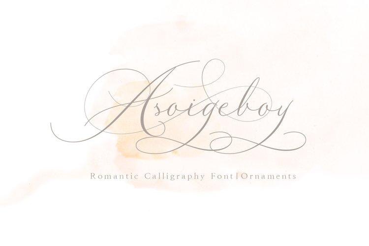 Asoigeboy calligraphy example image 1
