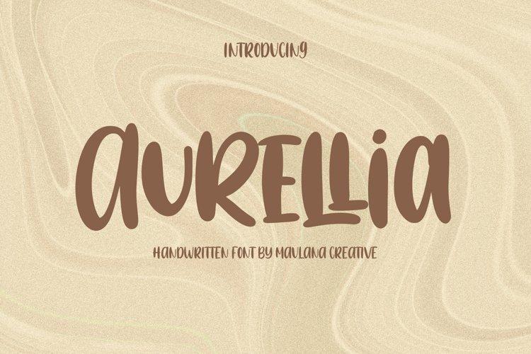 Aurellia Handwritten Font example image 1