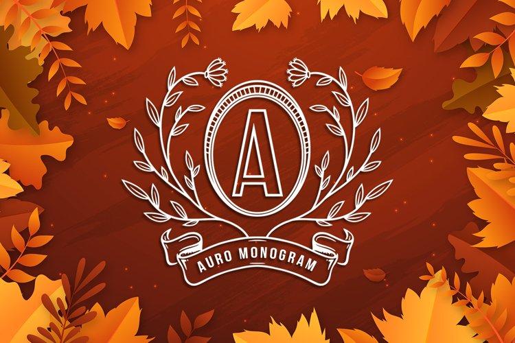 Auro Monogram example image 1