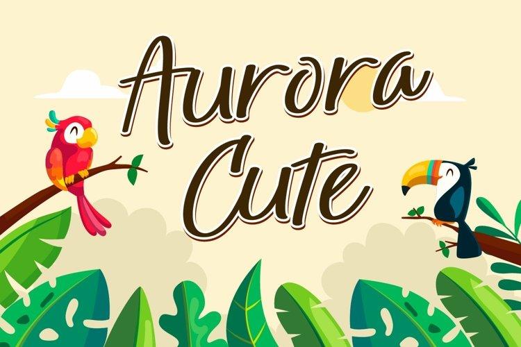 Aurora Cute example image 1