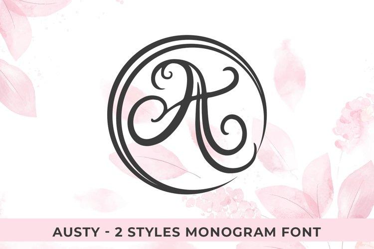 Austy Monogram example image 1