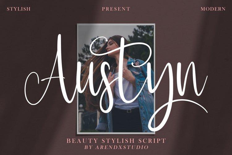 Austyn - Beauty Stylish Script example image 1