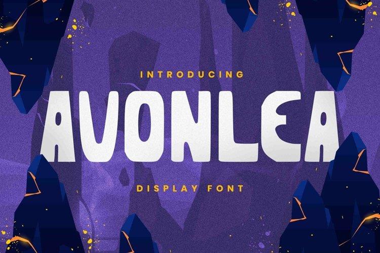 Web Font Avonlea Font