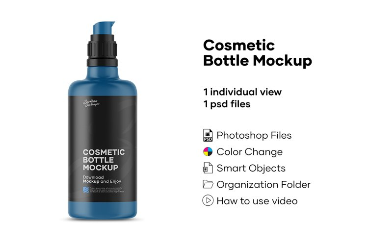 Cosmetic Bottle Mockup example image 1