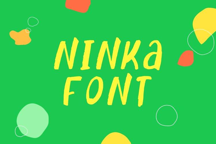 Ninka Font example image 1