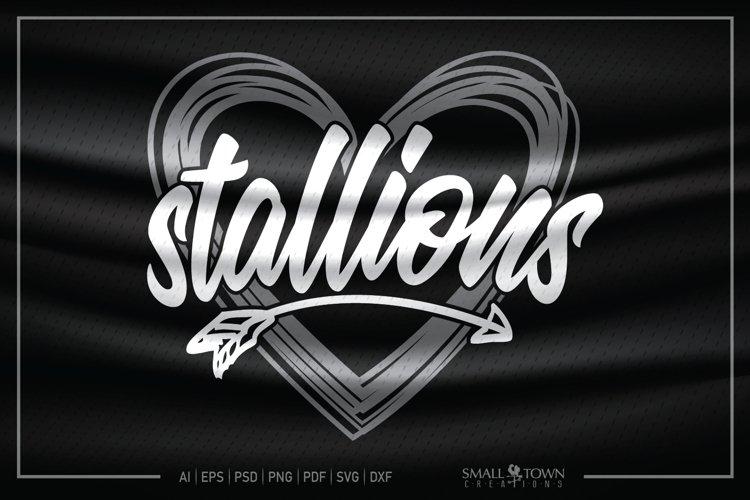 Stallions, Stallions Mascot, Stallions Pride SVG example image 1