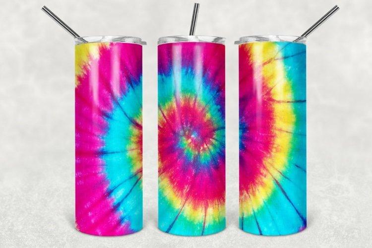 Tie Dye Tumbler Sublimation Design, Pastel Tumbler Design