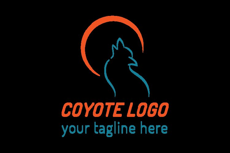 Coyote logo template example image 1