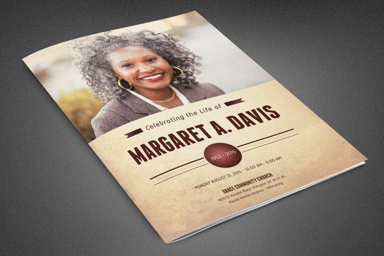 Funeral and Memorial Program
