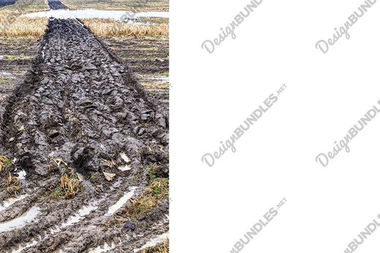 plowed field in autumn example image 1