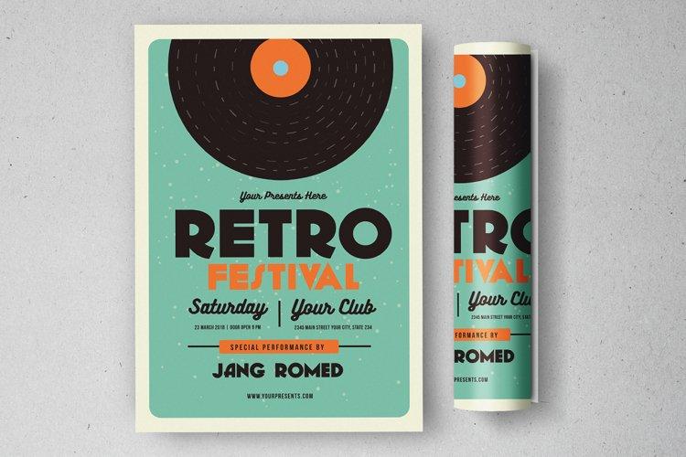 Retro Music Flyer example image 1