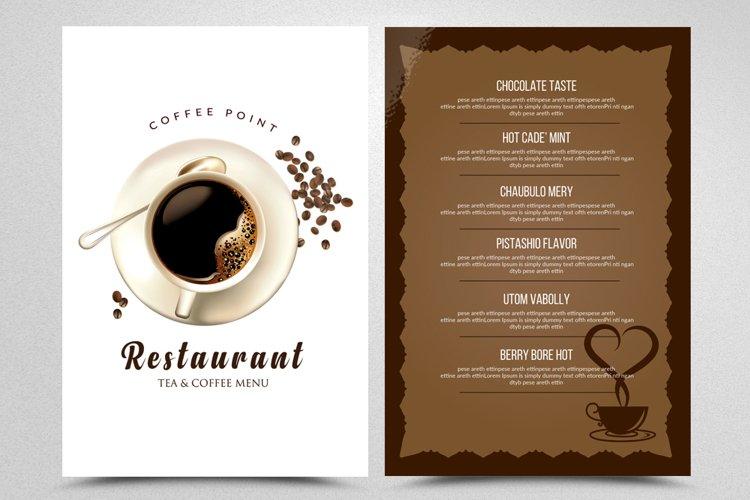 Food Restaurant Menu Flyer example image 1