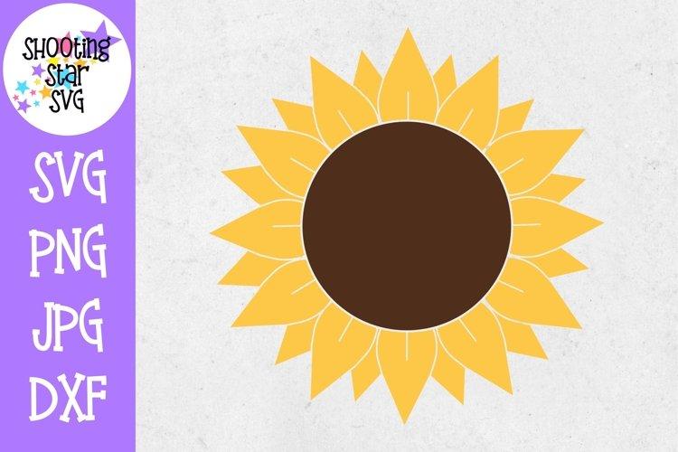 Sunflower SVG - Full Sunflower SVG