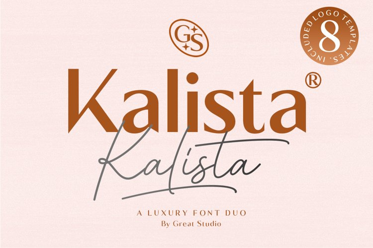 Kalista Font Duo example image 1