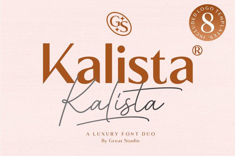 Kalista Font Duo