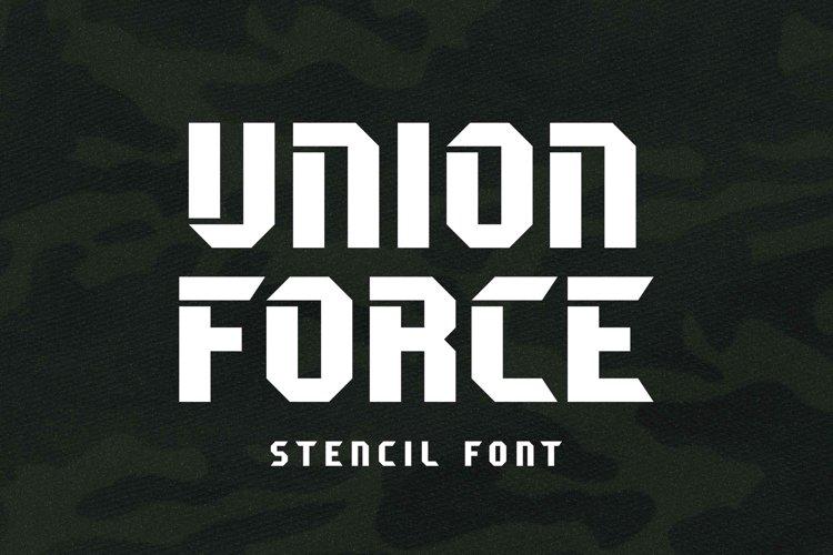 Union Force example image 1