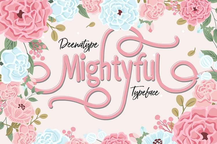 Mightyful Typeface example image 1