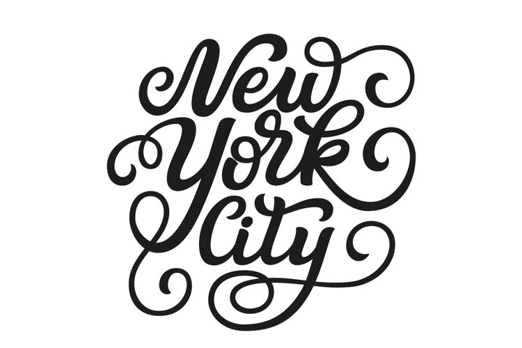 New York City SVG cut file example image 1