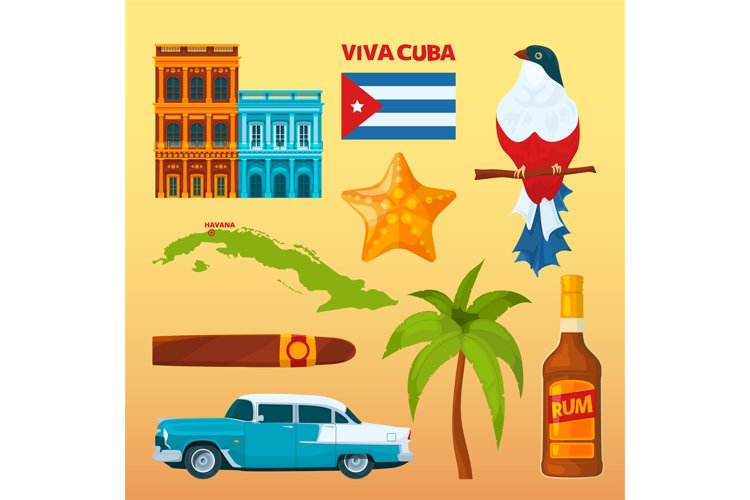 Cuba landmarks and cultural symbols example image 1