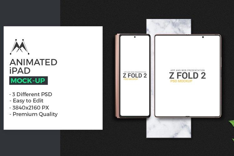 Galaxy Z Fold 2 Mockup example image 1