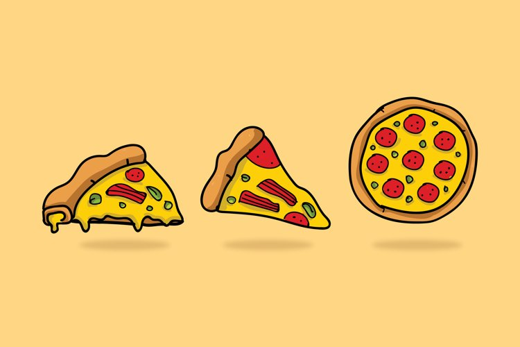 Pizza Illustrations example image 1
