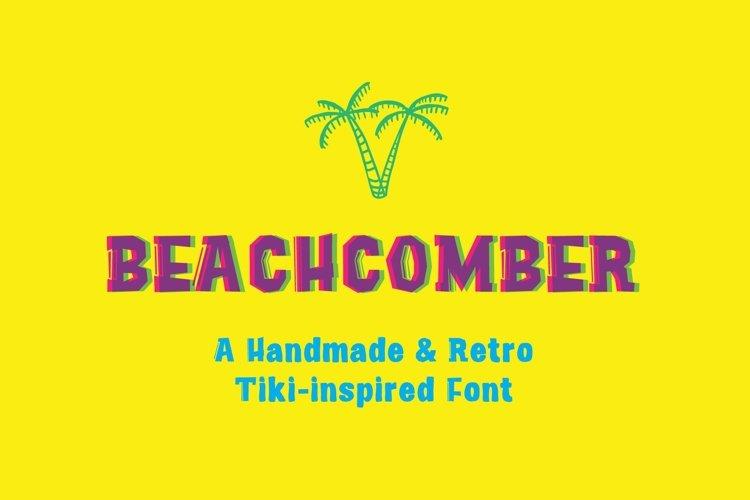 Beachcomber Font & Illustrations example image 1