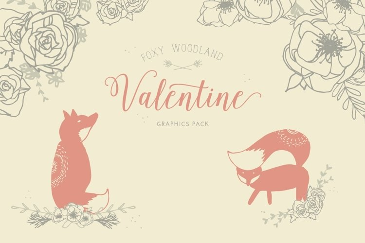 Foxy Woodland Valentine Collection example image 1