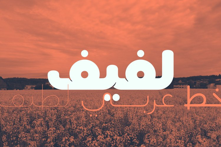Lafeef - Arabic Typeface example image 1