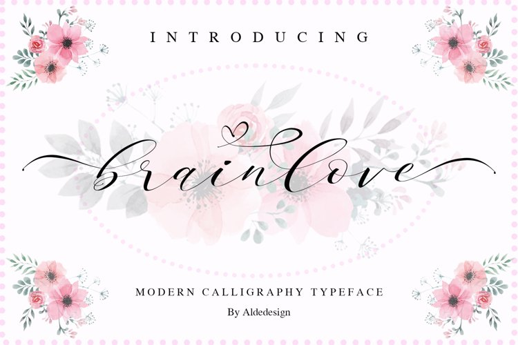 Brainlove - Beautiful Script example image 1