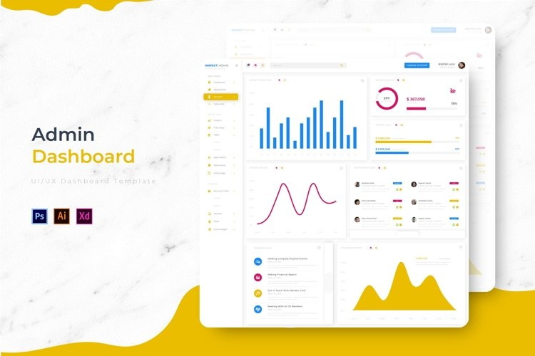 Inspect Dashboard | Admin Template example image 1
