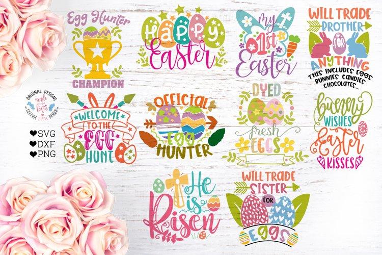 Easter Kids Cut Files and Sublimation Bundle
