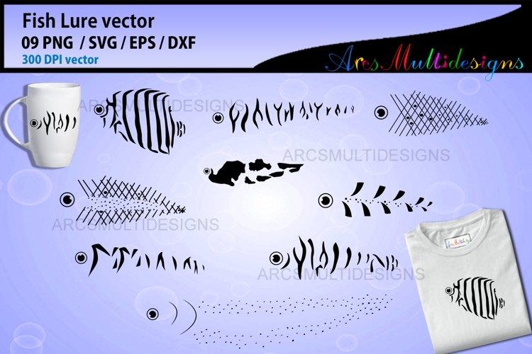 Fishing lure SVG / Fishing Lure bundle example image 1