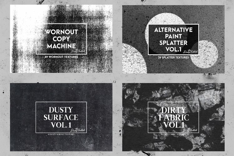 The Dusty Inklab Grunge Sample Pack example 3