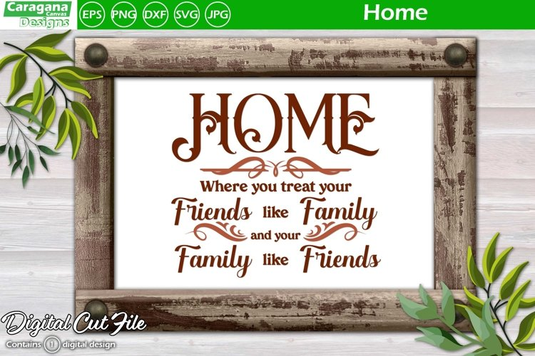 Home where Friends are Family example image 1