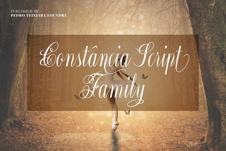 Constância Script Family example image 1