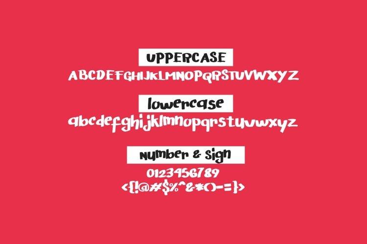 Arigato Handwritten Font example 1