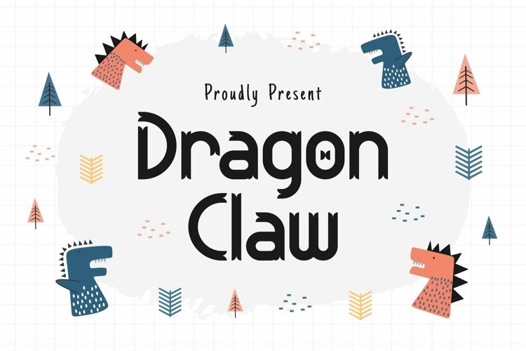 Web Font Dragon Claw example image 1