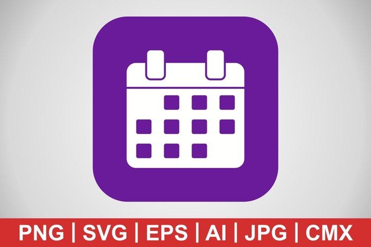 Vector Calendar Icon example image 1