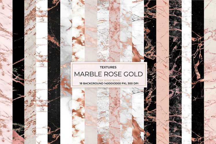 Marble rose gold, background