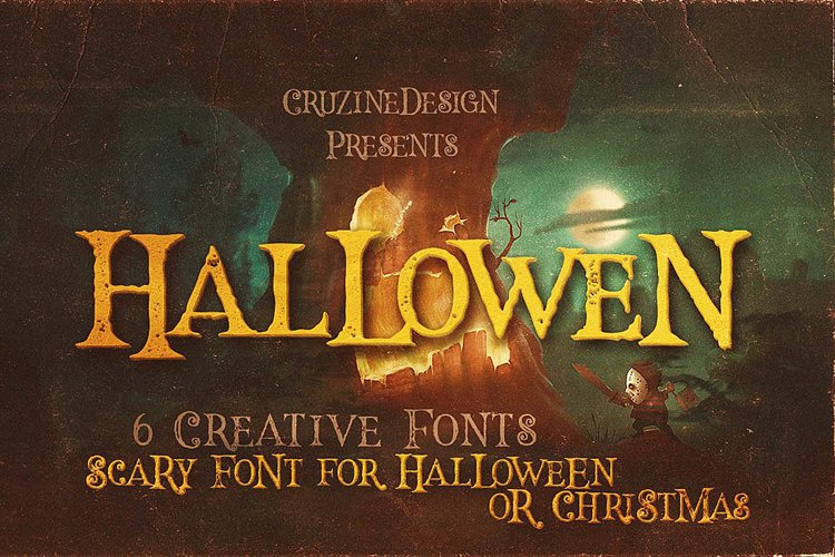 Hallowen Typeface example image 1