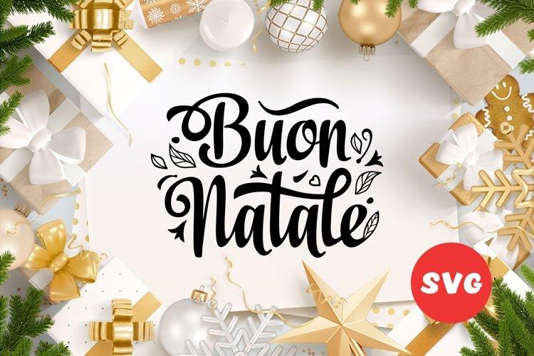 Buon Natale svg Italian Christmas Around the World example image 1