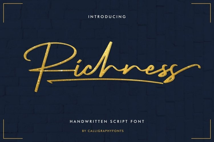 Richness example image 1