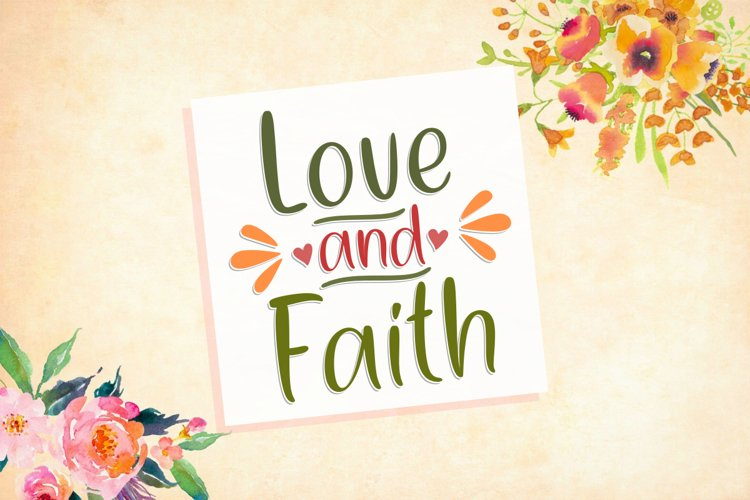 Love And Faith example image 1