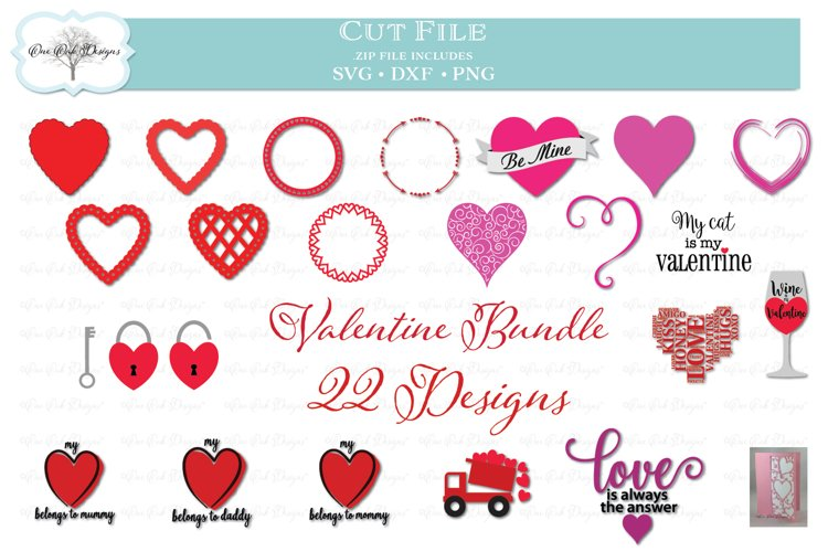 Valentine's Day Bundle -- 22 Designs! example image 1